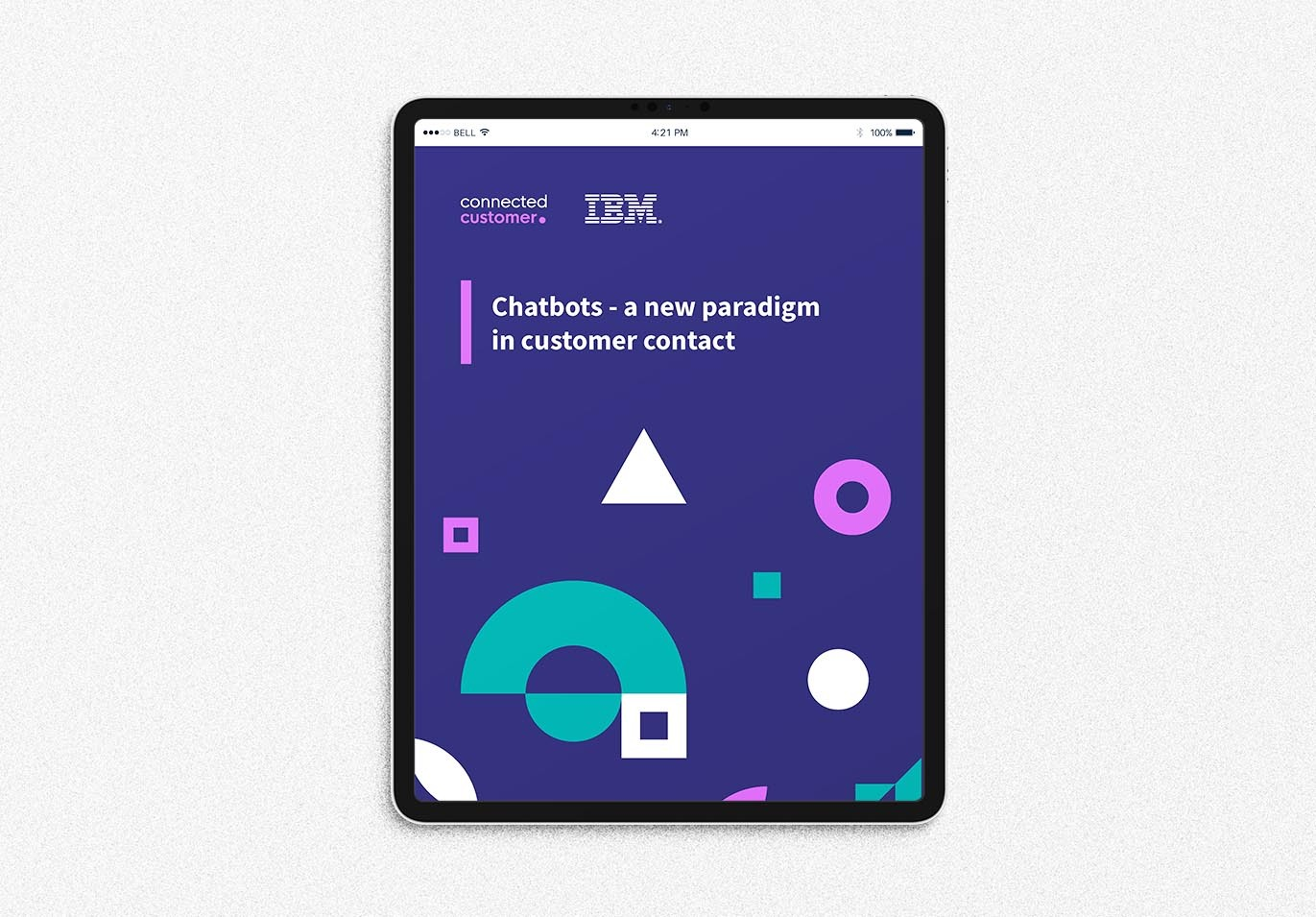 Chatbots - a new paradigm in customer contact | Connected Customer Digital Campaign