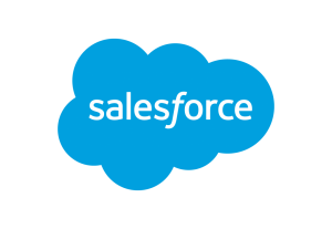 Salesforce Logo, Future of Utilities sponsor